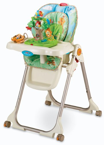6856bbb26e83 Fisher-Price tag Rainforest Healthful Care Significant Chair