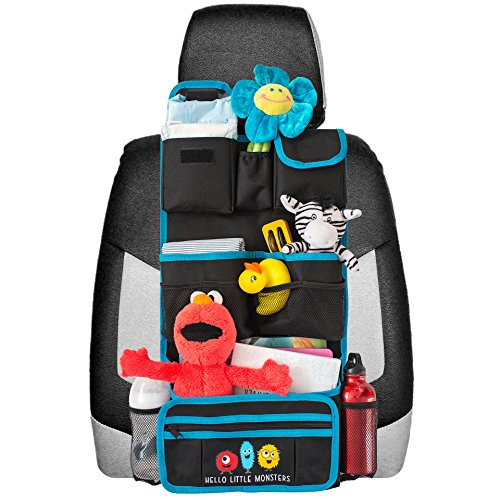 Car Seat Toy Holder : Backseat car organizer children toy storage travel